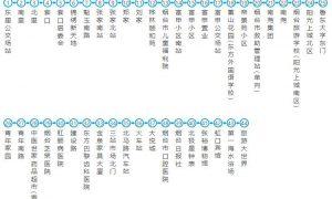 3路(魁玉南路方向):东里公交场站-旅游大世界