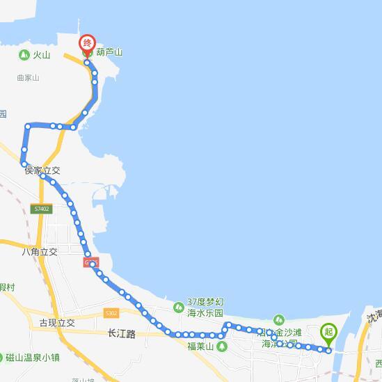209路:烟台公交开发区公司—山后李家