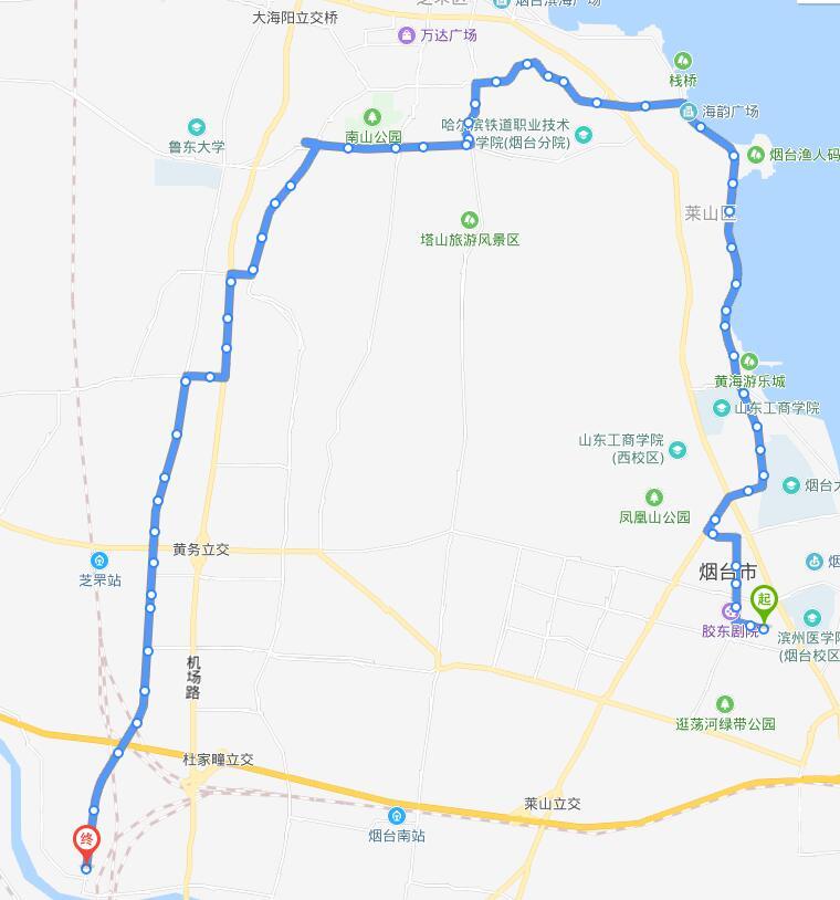59路:孙家滩公交场站-西珠岩公交场站