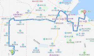 43路:康和新城公交场站-烟台山