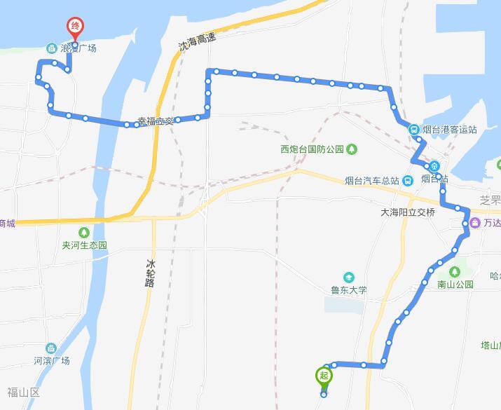 44路:富甲公交场站-华安大酒店