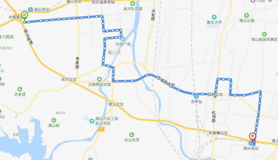36路:西拓区公交场站—城铁南站