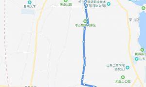 45路:城铁南站——东方文化市场场站(新桥)