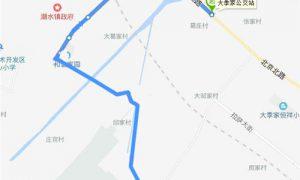 218路区间:大季家公交站----小雪村