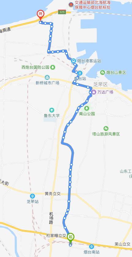 80路:南车门-福泰公交场站