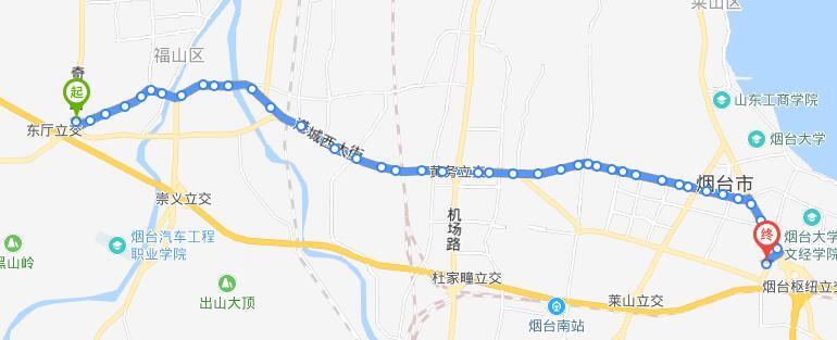 39路:福山区奇泉路场站-上海滩花园场站