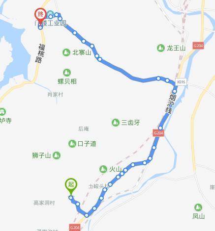 312路:门楼公交场站—善疃