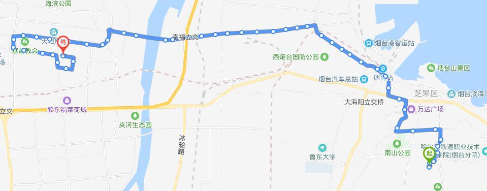 22路:SK润滑油-塔山游乐城