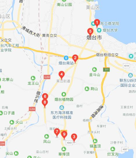 53路:周格庄-烟台大学
