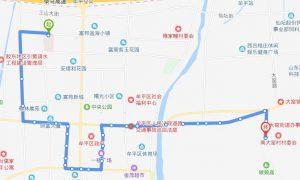 604路:滨医盈众彩票网附院北站-南大窑
