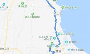 50路:杨家台子-烟台港物流园装饰城