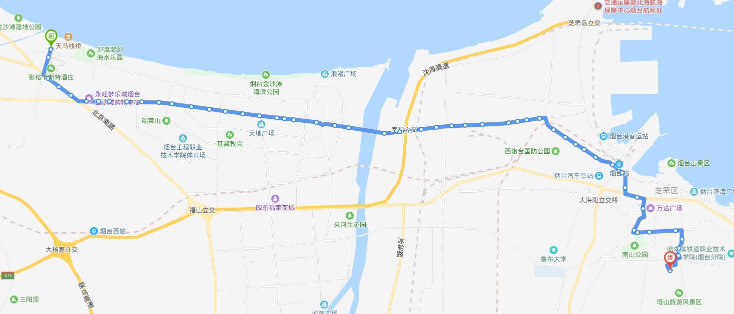 21路:天马相城客运站-塔山游乐城