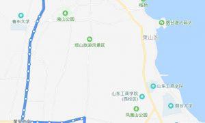 56路:上海滩花园场站—烟台港物流园装饰城
