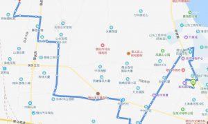 57路 孙家滩公交场站——富甲公交场站
