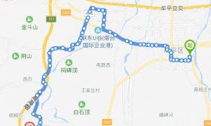 605路:沁水苑花卉鱼鸟市场-孔辛头