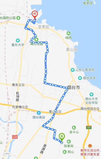 58路 逸品香山——火车站北广场