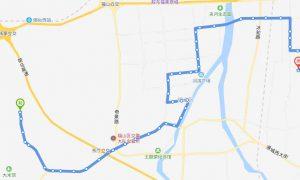 303路:吴阳泉—康和新城公交场站