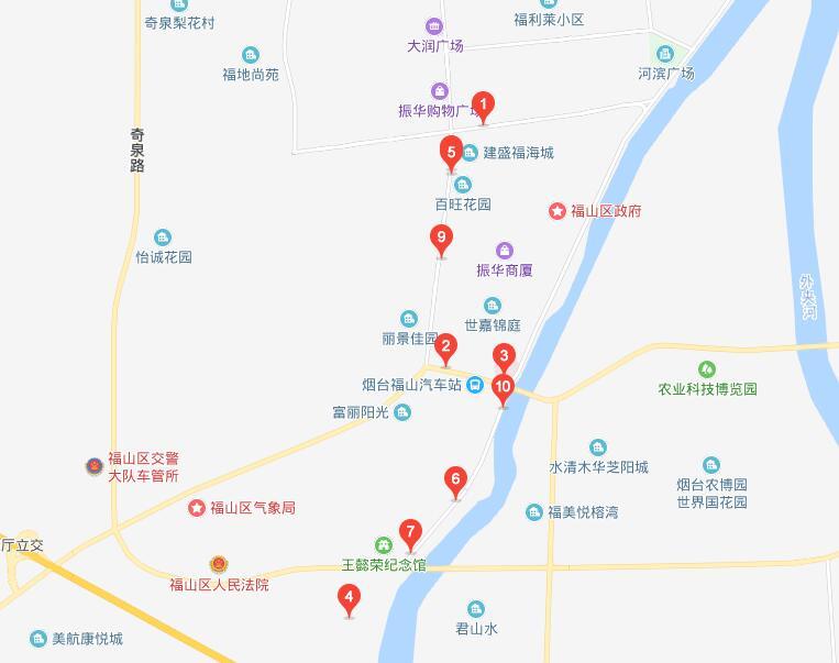 305路 清洋汽车站—东汪格庄站