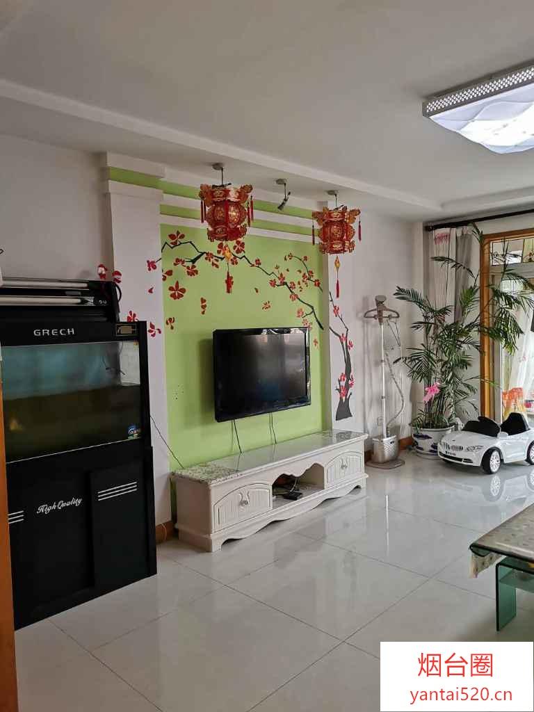 鲁花东上嘉园 精装婚房120平精装大三居南客厅 可贷款