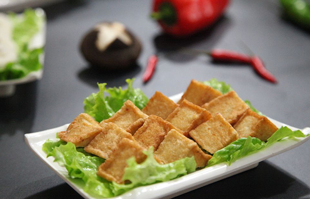 自制鱼豆腐!实打实的真材实料!