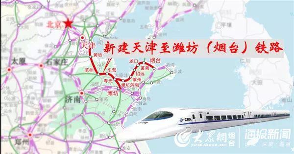 定了!潍烟高铁年内可开工!烟台3小时到北京!还有幸福新城、万华二期的最新消息…