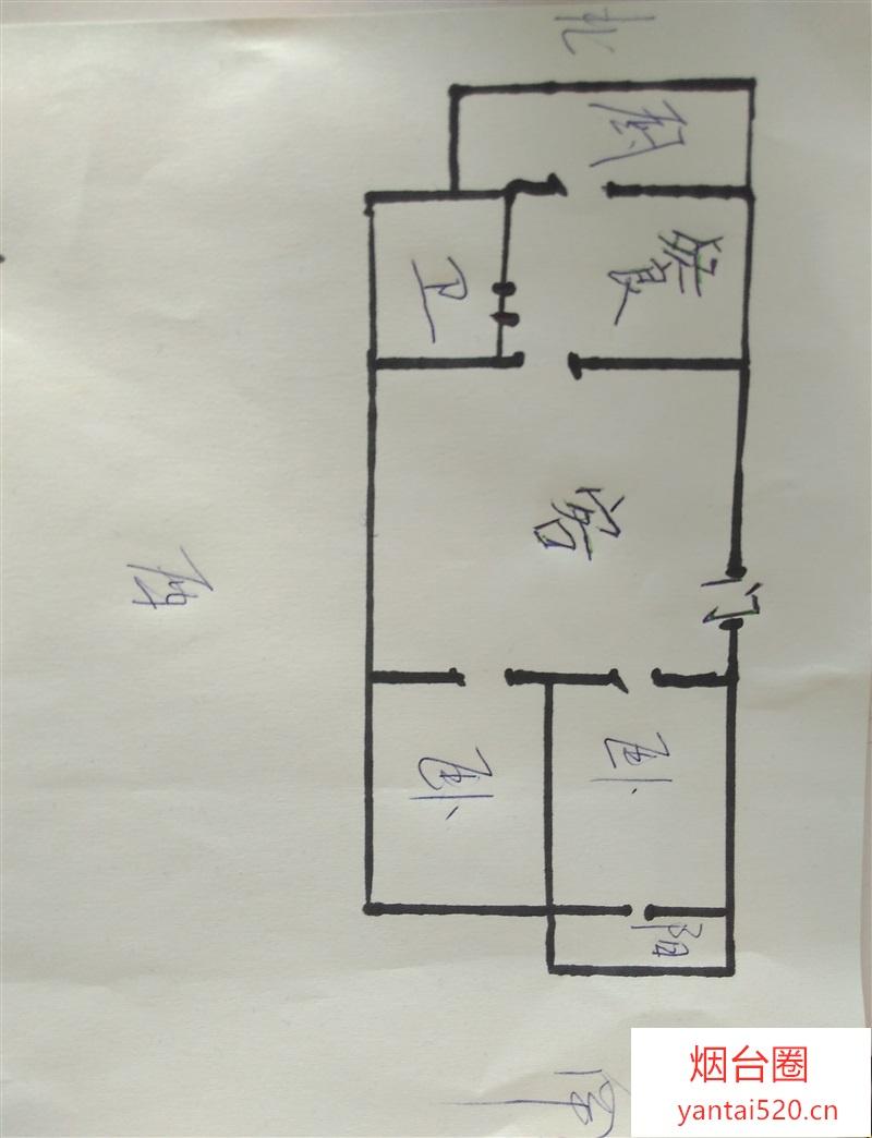 (中介)新建小区2室2厅1卫双证,南北通透,满五唯一,29.8万