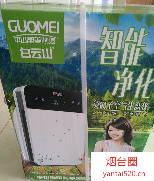 中山国美制造-白云山负离子空气生态仪